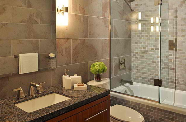 Bathroom Granite 15 bathrooms with granite countertops | home design lover