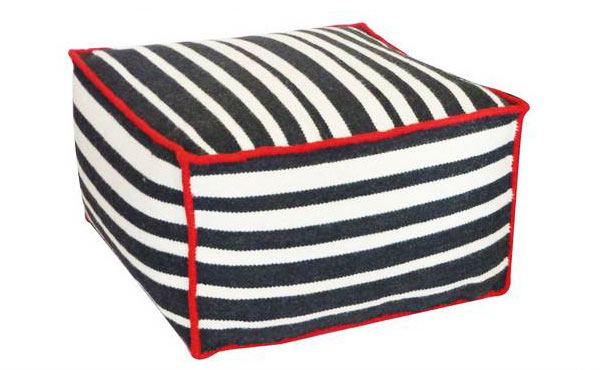 Striped Ottoman Designs