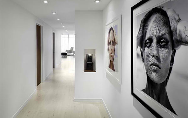 hallway artwork decors