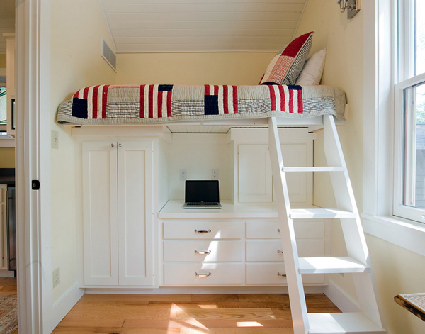 loft ladder bedroom