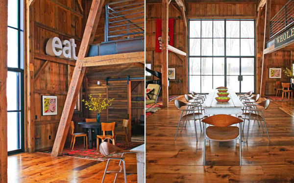 Michigan Barn Dining Room Font