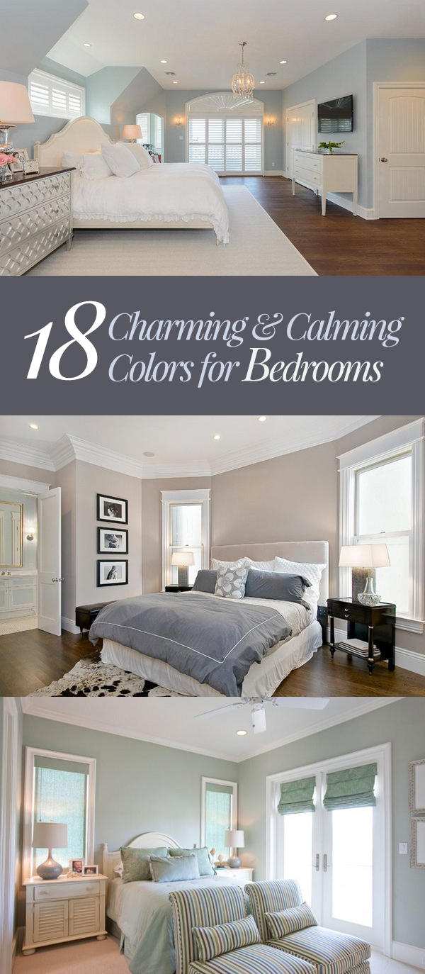 18 Charming Amp Calming Colors For Bedrooms Home Design Lover