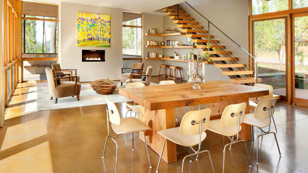 15 Ideas For Natural Modern Dining Rooms Home Design Lover