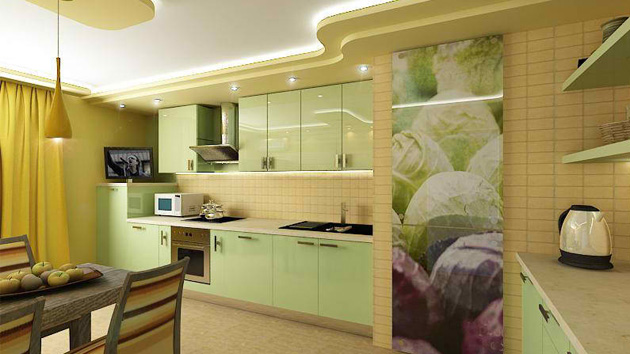 green and yellow kitchen 15 pastel green kitchens for a lighter look home design 3964