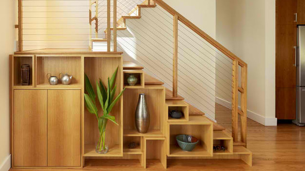 Stairs Shelves 15 ideas for space-saving under staircase shelves | home design lover