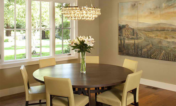 15 Ideas for Beige Dining Rooms | Home Design Lover