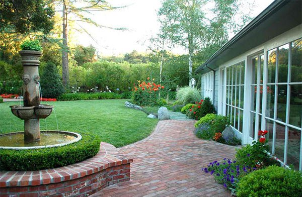 15 Ideas For Landscaping With Bricks Home Design Lover