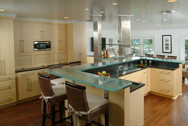 17 Beautiful Contemporary U Shaped Kitchen Layouts Home Design Lover