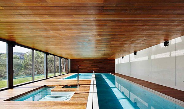 pool room decking