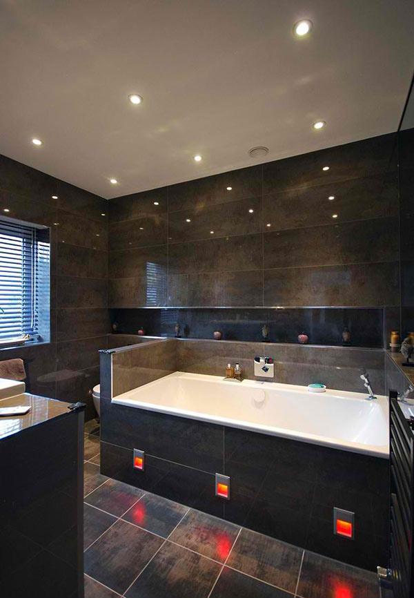 bathroom dark