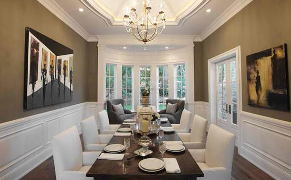 15 Ideas for Formal Dining Rooms | Home Design Lover