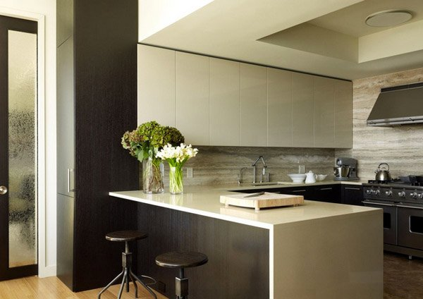 U-Shaped Kitchen Layouts