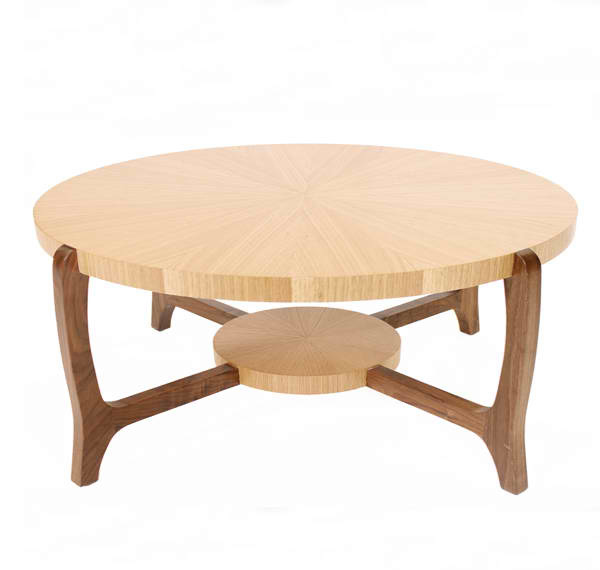 Verve Oak Round Coffee Table. Email; Save Photo. Small Circular Bottom