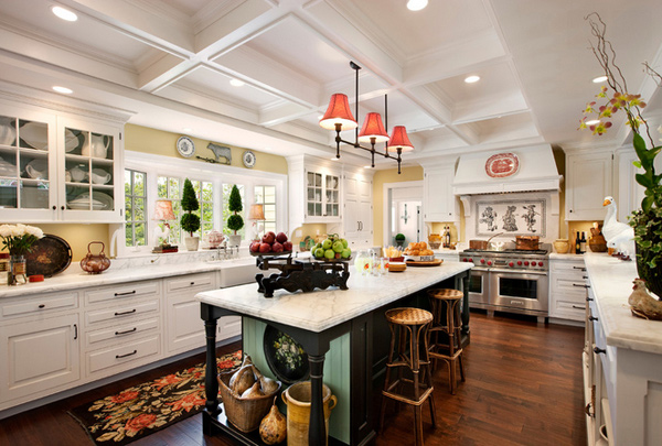 french country white kitchen cabinets 15 fabulous country kitchen designs home design lover 15639