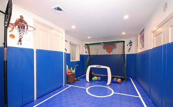 Indoor Home Basketball Courts
