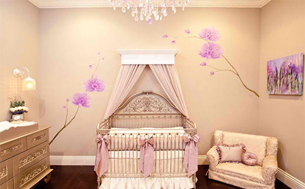 Lavender Girl's Nursery
