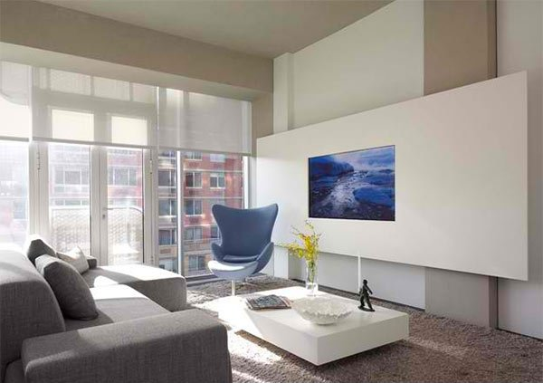 15 Ideas For Tv Built In Media Wall In Modern Living Rooms Home Design Lover