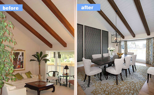 15 Before And After Pictures Of Dining Room Makeovers Home Design Lover