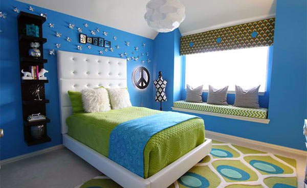 15 Killer Blue And Lime Green Bedroom Design Ideas Home Design Lover