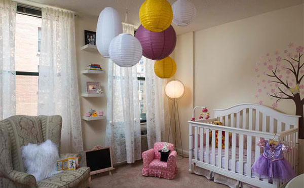 girl nursery design