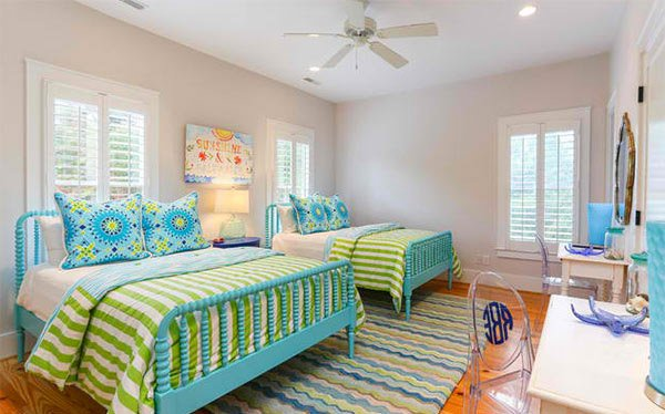 15 Killer Blue And Lime Green Bedroom Design Ideas Home