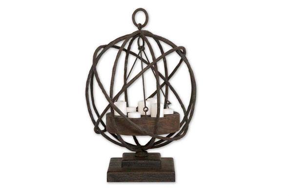 Wooden Candleholder
