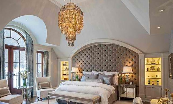 Vaulted Bedroom Design
