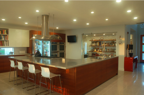 15 Astonishing Contemporary L-Shaped Kitchen Layouts