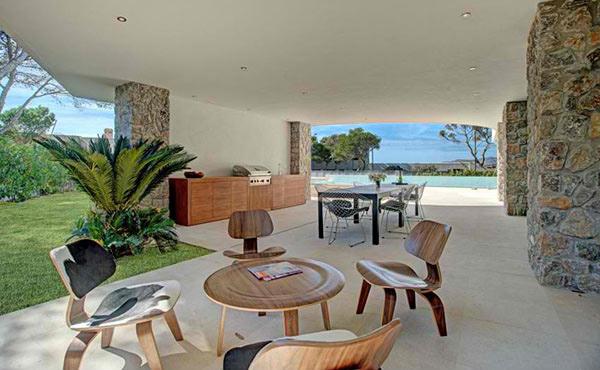 wooden outdoor furnitures