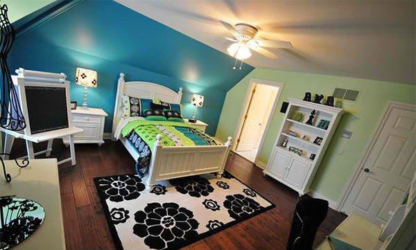 Finishing Touches Interiors Blue and Green Color