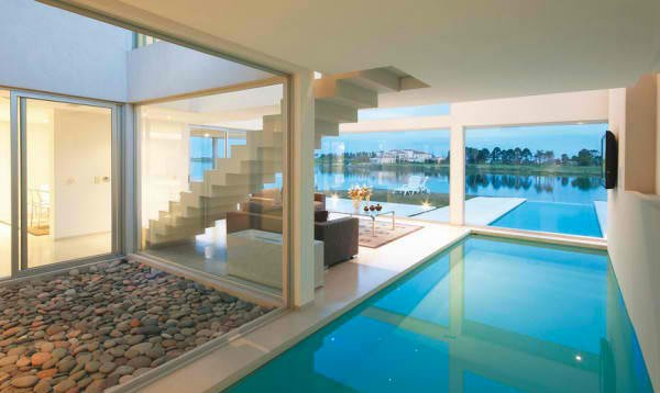 modern swimming pool rooms