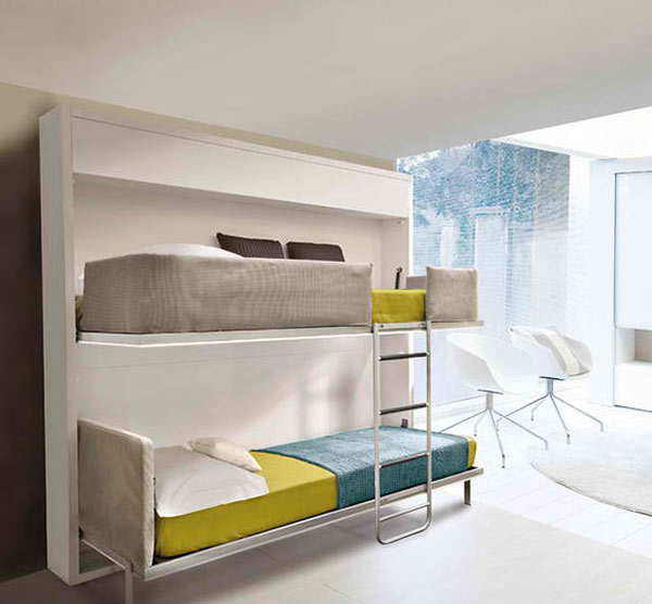 Space Efficient Bedroom Furniture: 15 Space-saving Wall Beds For Small Bedrooms