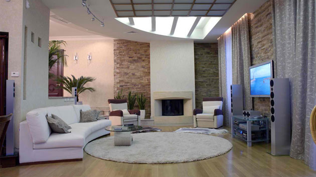 15 dream living room designs home design lover - Pictures of living room designs ...