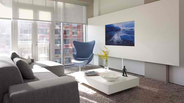 15 Ideas for TV Built in Media Wall in Modern Living Rooms