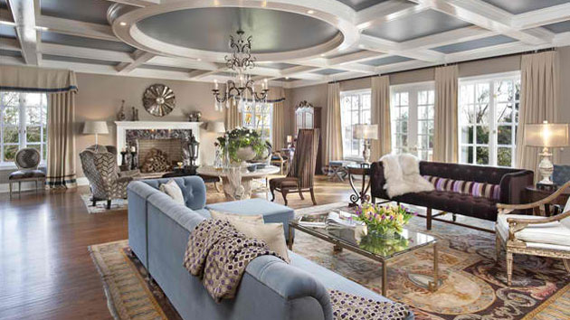15 Mansion Living Room Ideas Overflowing with Sophistication | Home ...