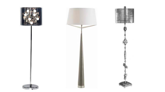 15 silver floor lamps that illuminate with elegance home design lover aloadofball Choice Image