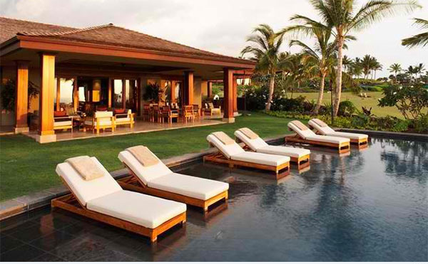 contemporary pool lounge chairs