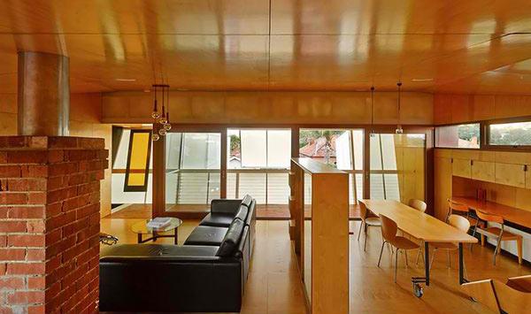 wood material interior