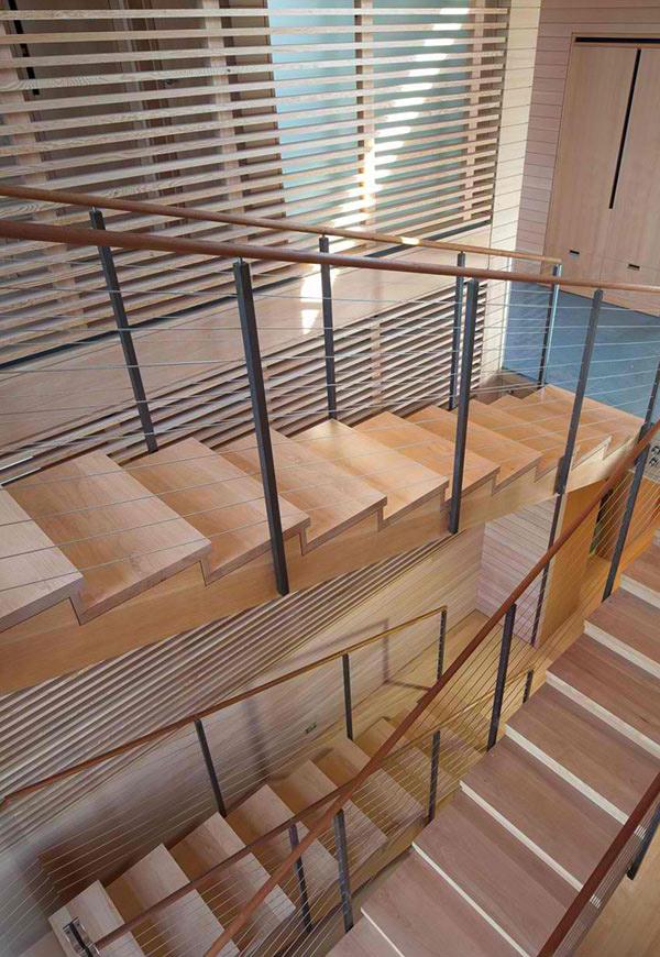 wood lining