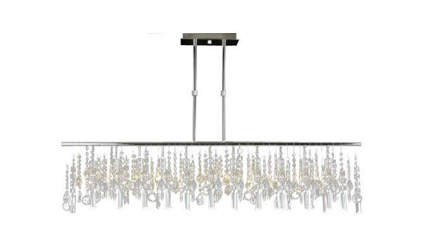 rectangular crystal chandelier toronto modern contemporary linear lighting lamp uk