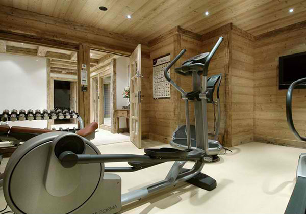 home gym room