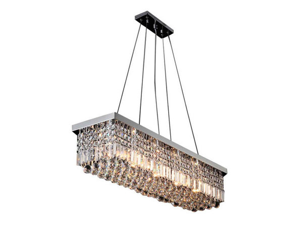 New Contemporary Rectangular Chandelier