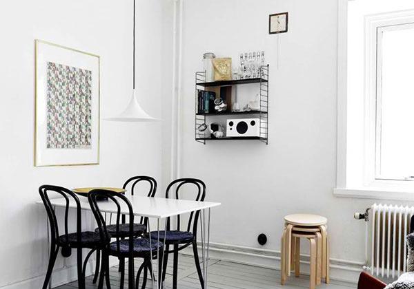 Scandinavian Design: Renovated Apartment