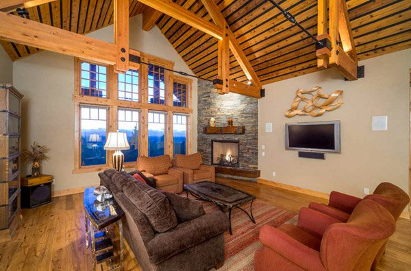 cool western style living room | 16 Awesome Western Living Room Decors | Home Design Lover