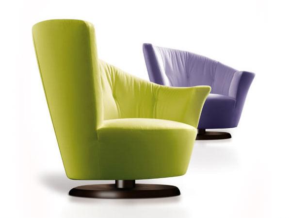 15 Modern Living Room Swivel Chair Designs | Home Design Lover
