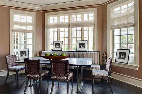 15 ideas in designing dining rooms with bay window home for Dining room windows