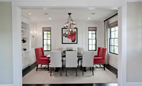 red and black dining room sets | 15 Dining Rooms in Red, Black and White Colors | Home ...