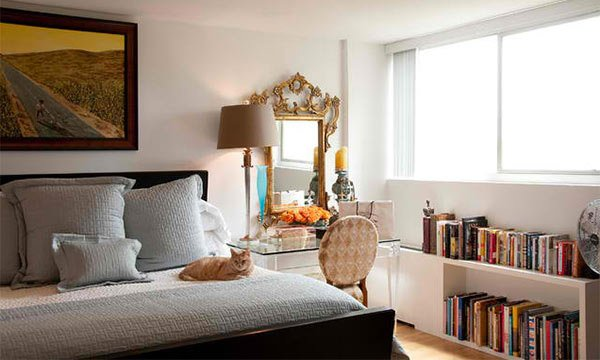 bookshelf that headboard gallery place a bookshelves double bedroom bed in instead behind headboards of as view