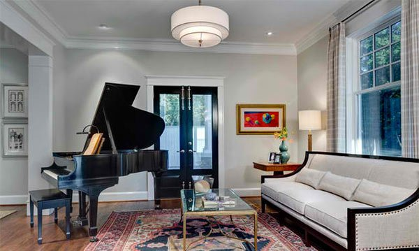 15 Grand Piano Set Ups In Traditional Living Rooms Home Design Lover