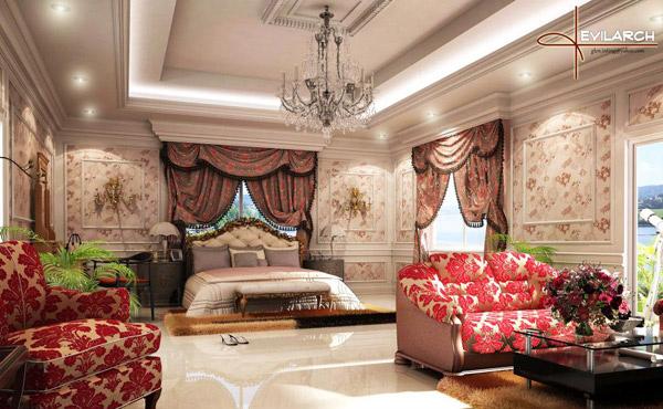 Her Master Bedroom